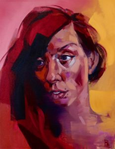 Singularity, 2018, oil on canvas, 25'' x 20